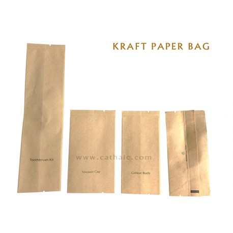 KRAFT BAG SET GENERIC / CUSTOM LOGO